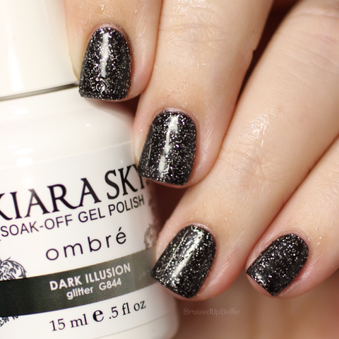Kiara Sky - G844 Dark Illusion Gel Polish