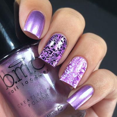 Bundle Monster - Dear Violet Stamping Polish