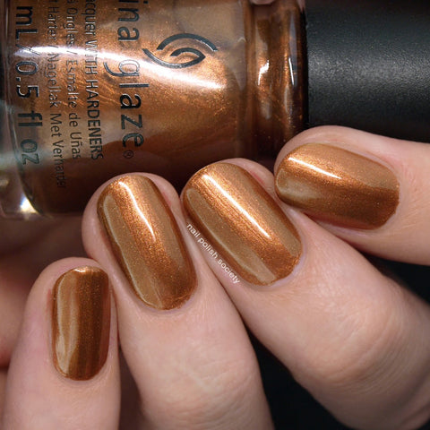 China Glaze - Copper-Tunist