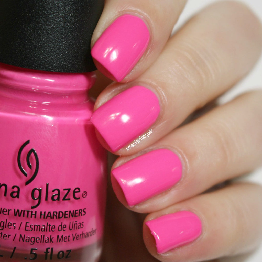 China Glaze - I'll Pink To That