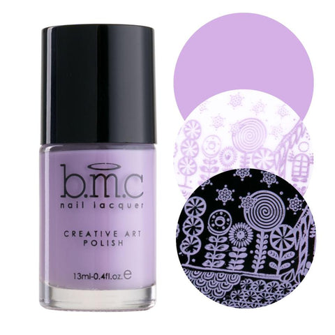 Bundle Monster - Lilac Mist Stamping Polish