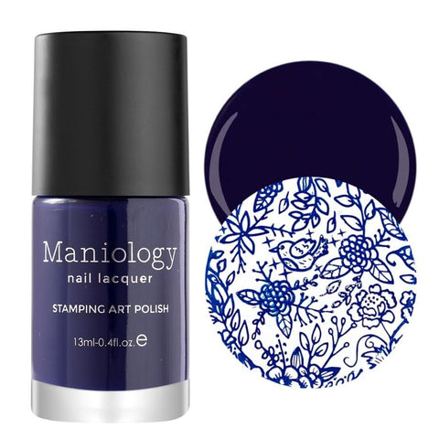 Maniology - 2nd Generation Creative Nail Art Stamping Polishes - Essentials: Primary