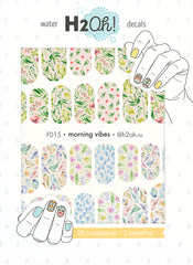 H2Oh! - F015 Morning Vibes Water Decals