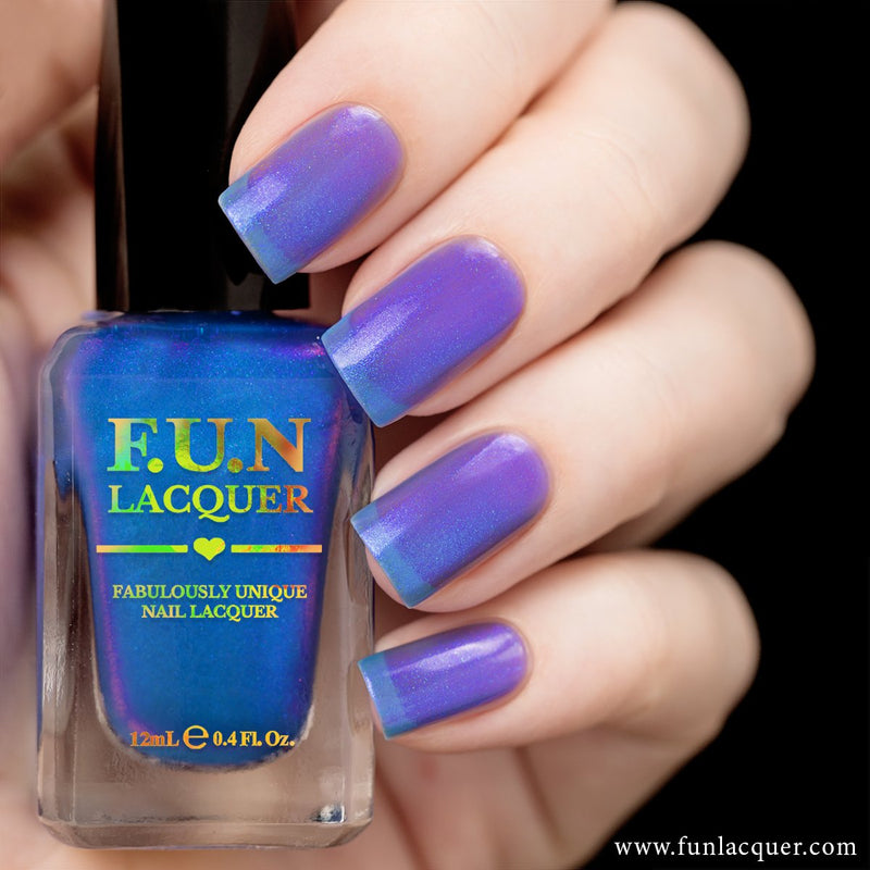 F.U.N Lacquer - Butterfly Nail Polish