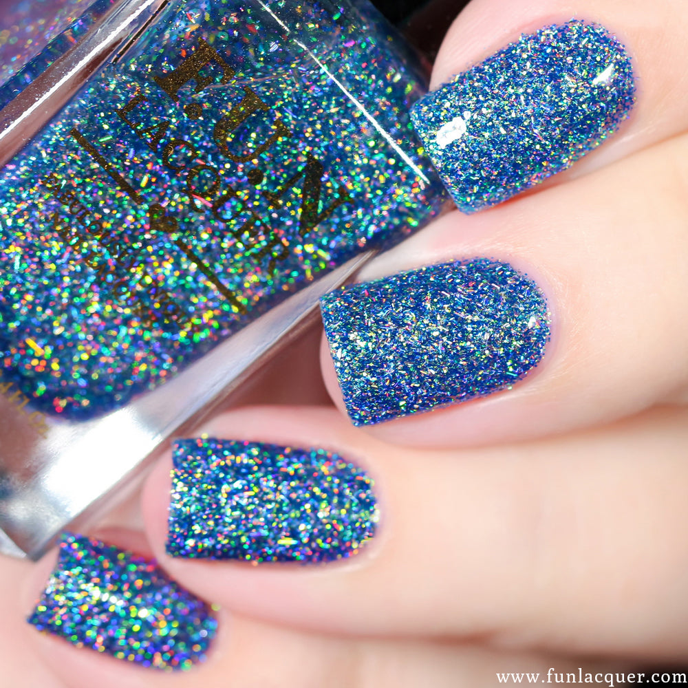 F.U.N Lacquer - Northern Lights Holo | Whats Up Nails