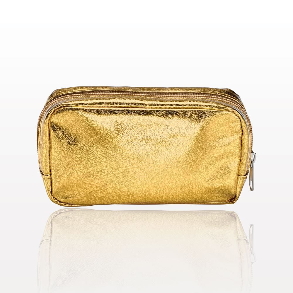 ONEderful - Gold Metallic Small Cosmetic Bag
