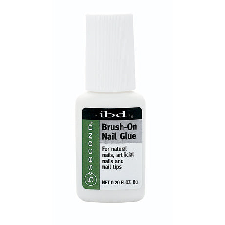 IBD - 5 Second Brush-On Nail Glue 6 g