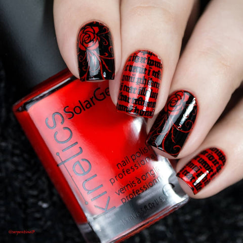 Lina Nail Art Supplies - Gothic & Chic 01