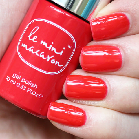 Le Mini Macaron - Cherry Red Gel Polish