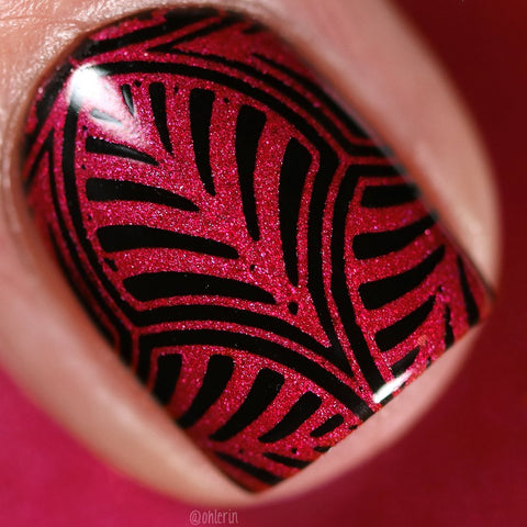Lina Nail Art Supplies - Gothness Stamping Polish