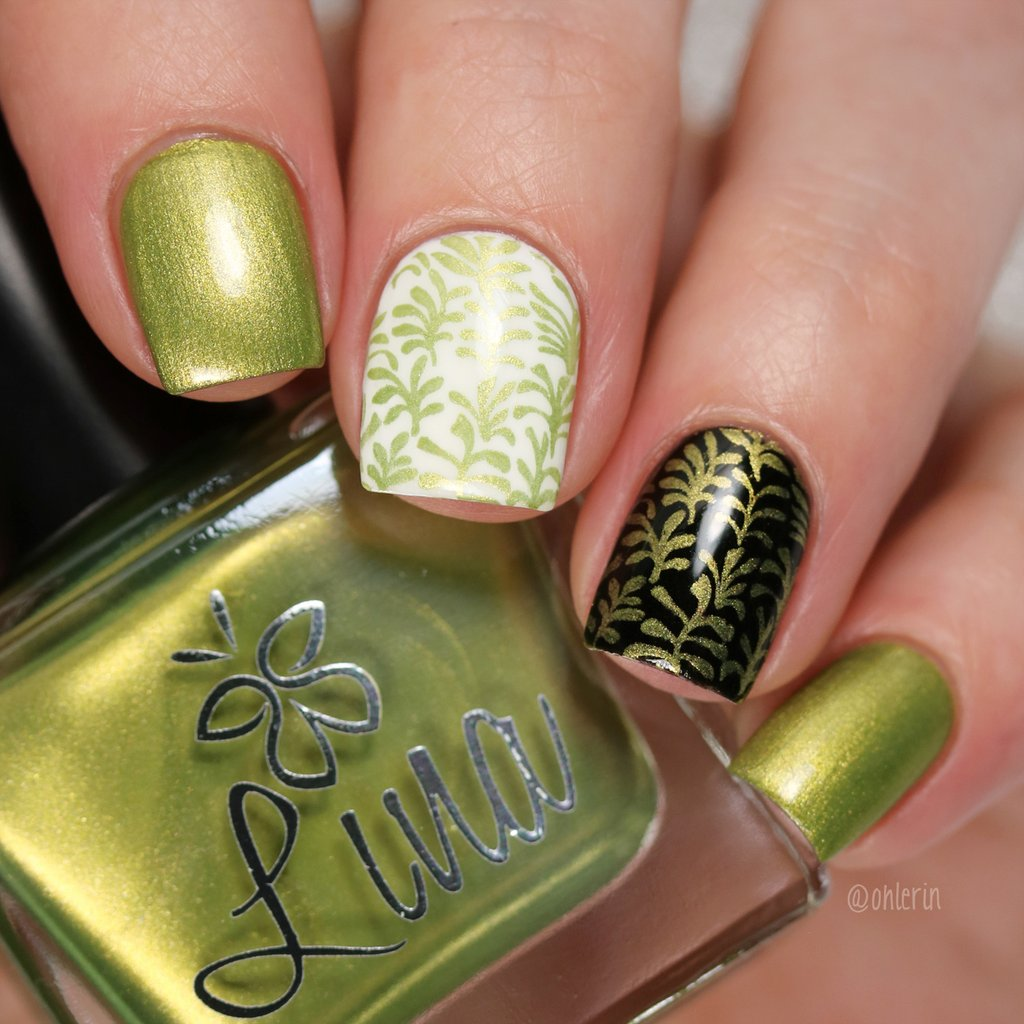 Lina Nail Art Supplies - Join The Tribe Stamping Polish