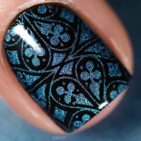 Lina Nail Art Supplies - Vamping My Style Stamping Polish