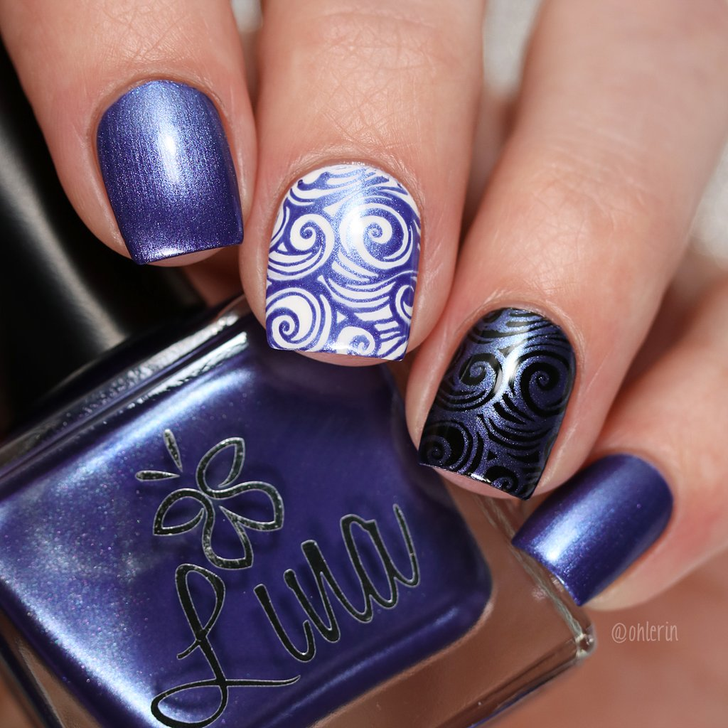 Lina Nail Art Supplies - Man Hunter Stamping Polish