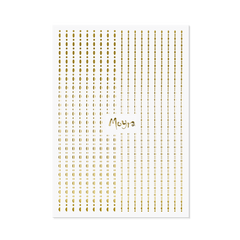 Moyra - Dots No. 01 Sticker Strips (Gold)