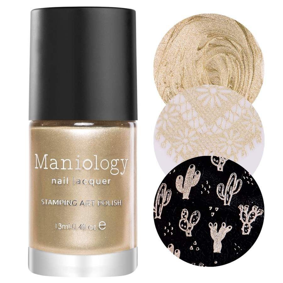 Maniology - Gold Rush Stamping Polish