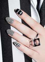 NCLA - Behavioral Patterns Nail Wraps