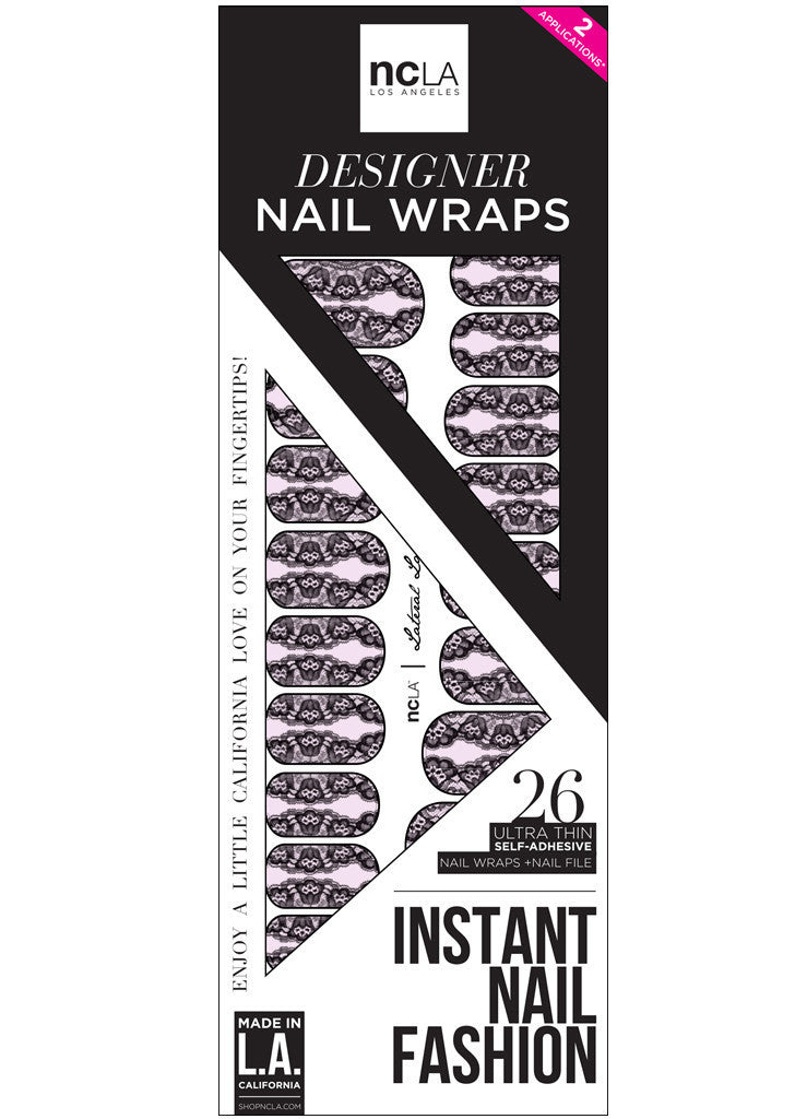 NCLA - Lateral Lace Nail Wraps