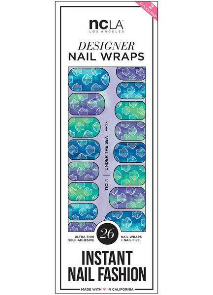 NCLA - Under The Sea Nail Wraps