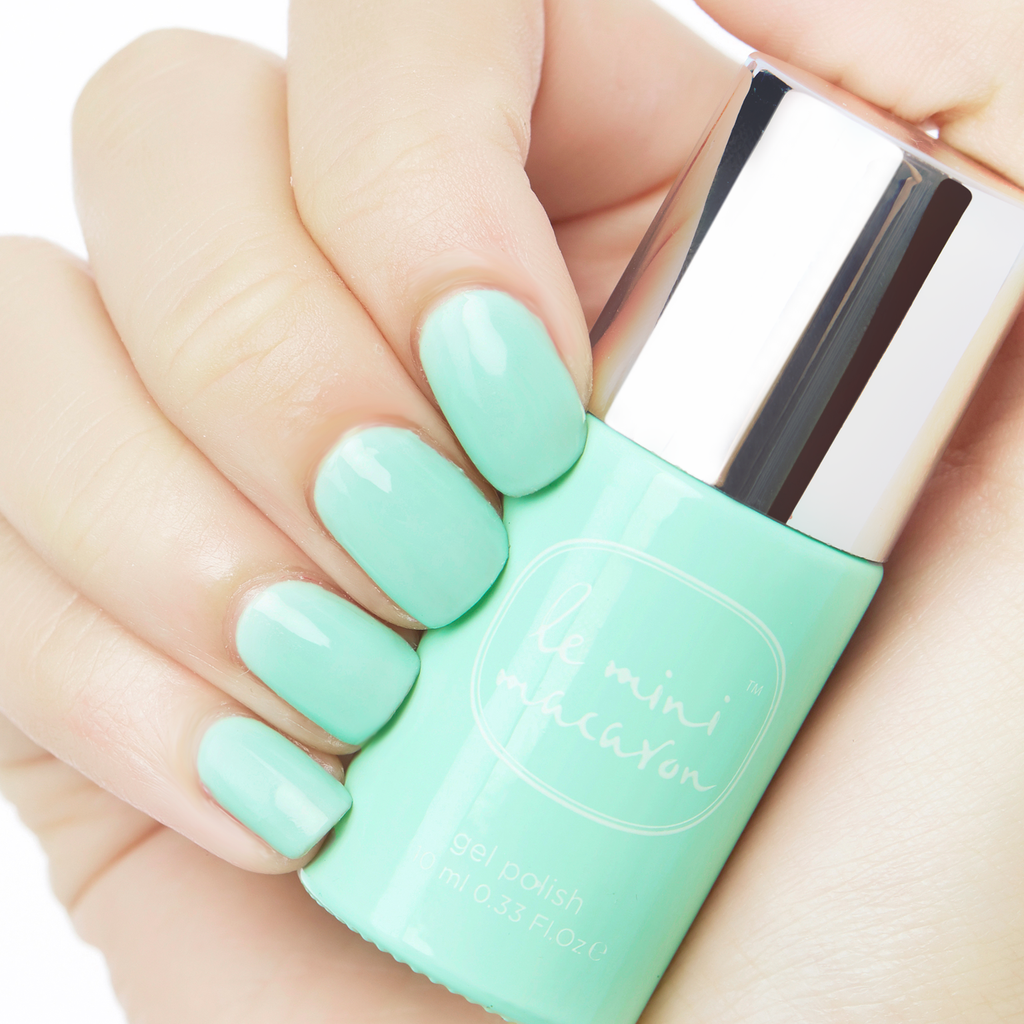 Le Mini Macaron - Sweet Mint Gel Polish