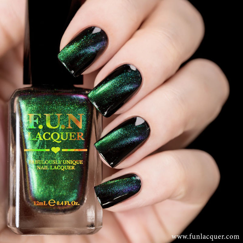 F.U.N Lacquer - Awesome Nail Polish (Magnetic)