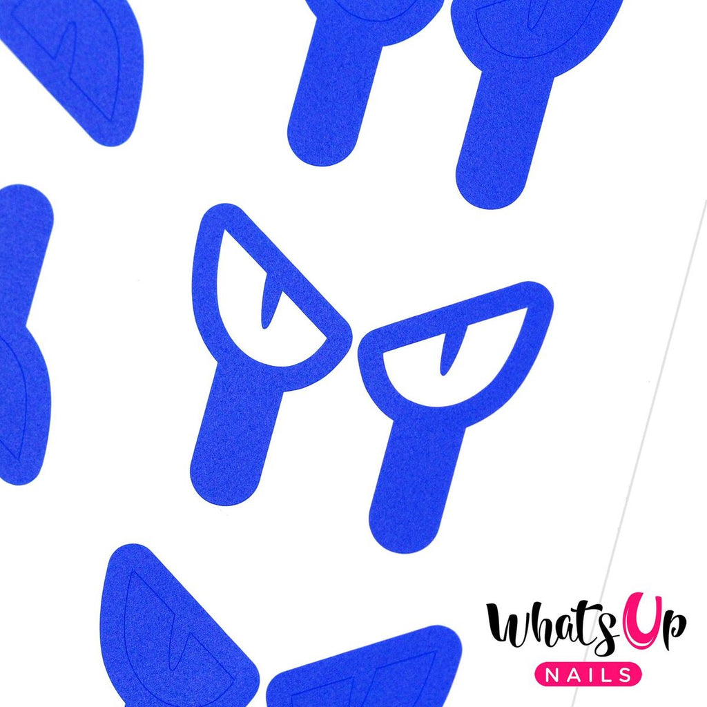 Whats Up Nails - Cat Eyes Stencils