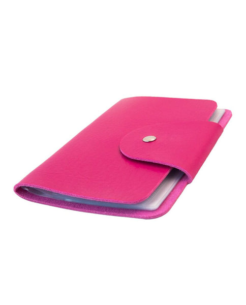 UberChic Beauty - Mini Pink Pleather Folder