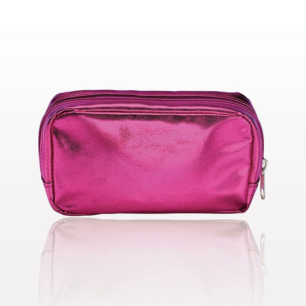 ONEderful - Pink Metallic Small Cosmetic Bag