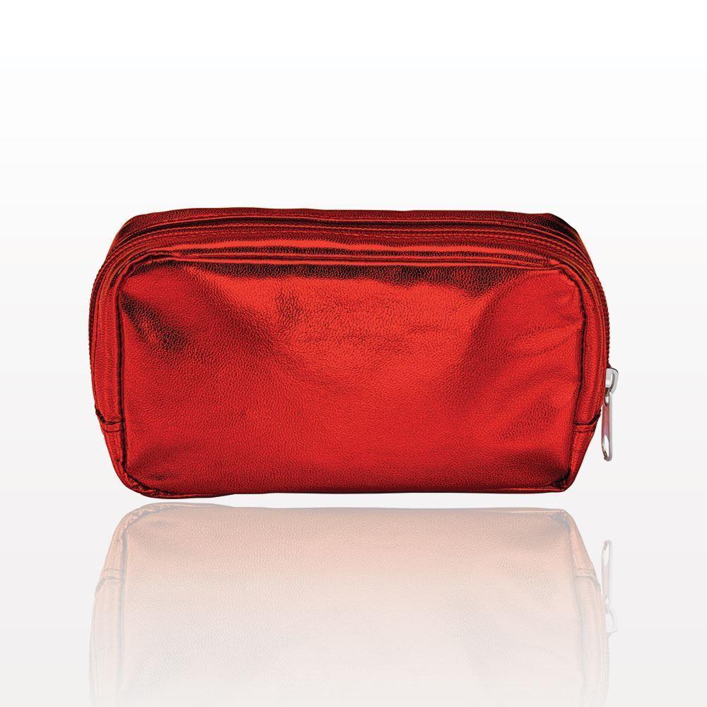ONEderful - Red Metallic Small Cosmetic Bag