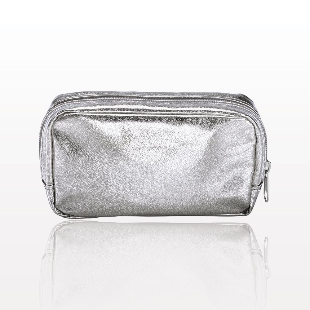 ONEderful - Silver Metallic Small Cosmetic Bag