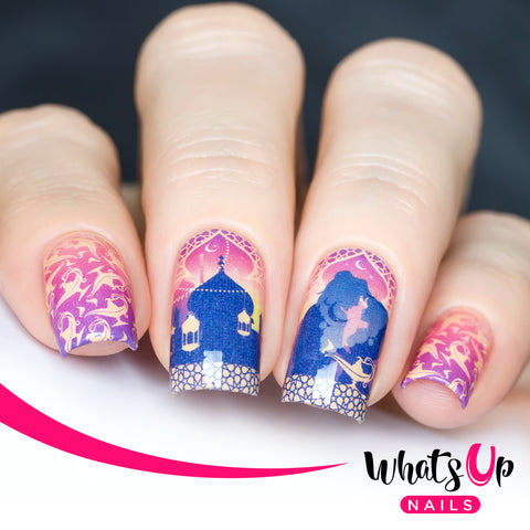 Whats Up Nails - P107 Arabian Night of Love Water Decals