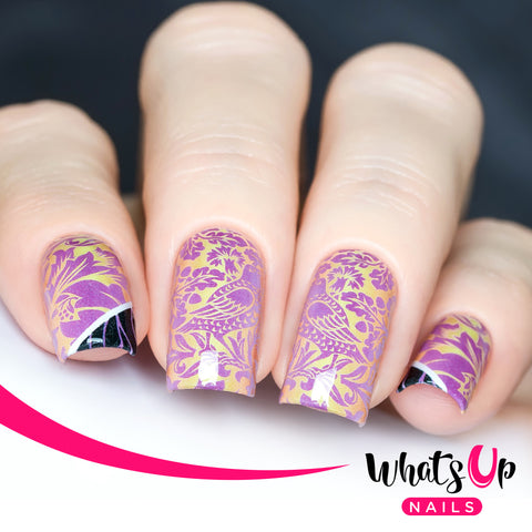 Whats Up Nails - P109 Two Birds In The Bush Water Decals