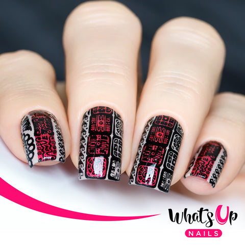 Whats Up Nails - A007 Aztec Countdown