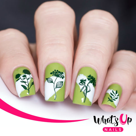 Whats Up Nails - A020 Floralize Your Texture