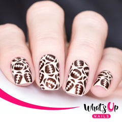 Whats Up Nails - American Football Stencils