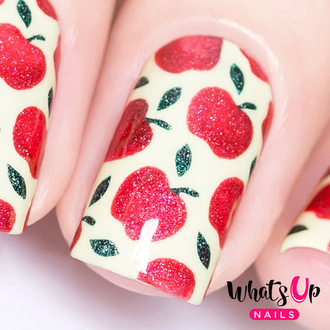 Whats Up Nails - Apples Stencils