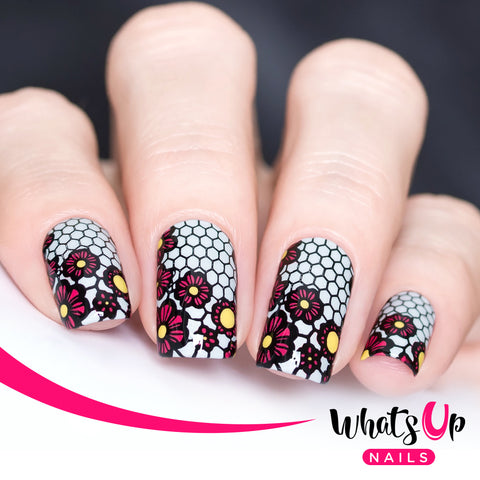Whats Up Nails - B004 Seductive Lace
