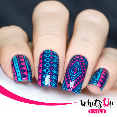 Whats Up Nails - Stamping Starter Kit (B009, Neither Noir, Magnified Stamper)
