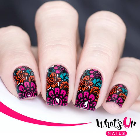 Whats Up Nails B027 The Art Of Henna Whats Up Nails
