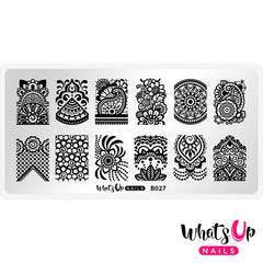 Whats Up Nails - B027 The Art of Henna
