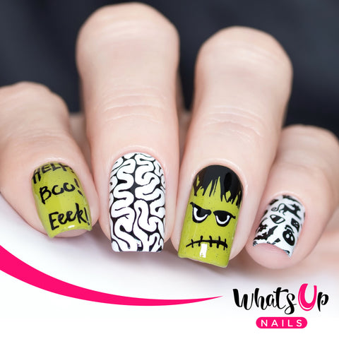 Whats Up Nails - B036 Eeks and Screams