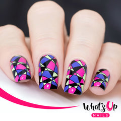 Whats Up Nails - B039 Geometric Trance