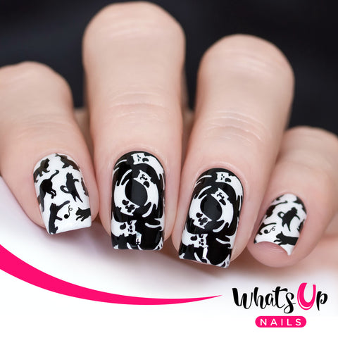 Whats Up Nails - B047 Everyday is Caturday