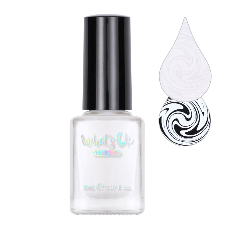 Whats Up Nails - Blanc My Mind Stamping Polish