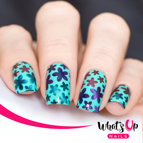 Whats Up Nails - Bloom Stencils