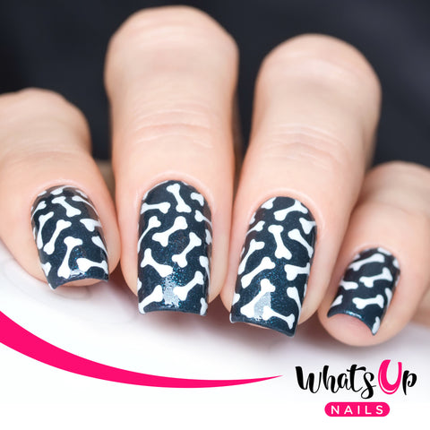 Whats Up Nails - Bones Stencils