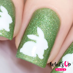 Whats Up Nails - Bunny Stencils