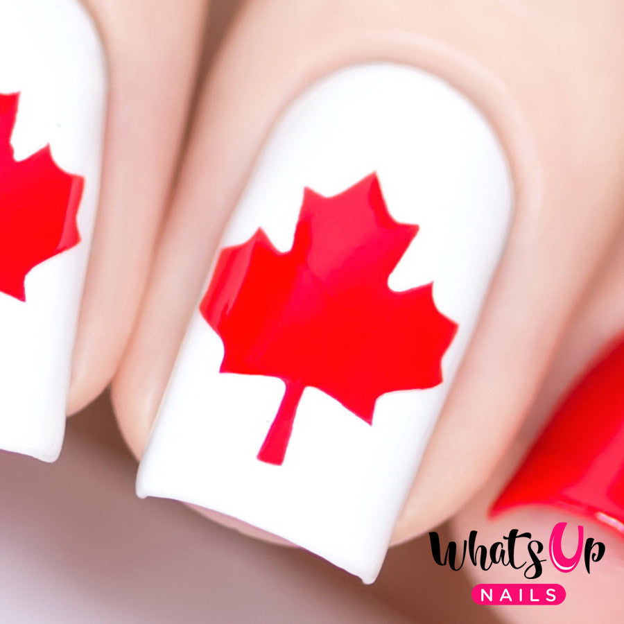 whats up nails canadian flag stencils whats up nails