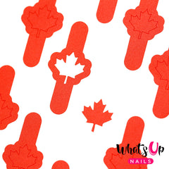 Whats Up Nails - Canadian Flag Stencils