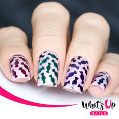Whats Up Nails - Candies Stencils