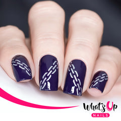 Whats Up Nails - Chain Stencils